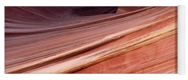 'the Wave' North Coyote Buttes 62 Yoga Mat
