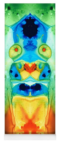 The Wedding - Abstract Art By Sharon Cummings Yoga Mat