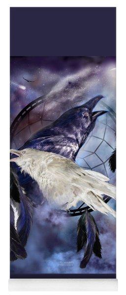 The White Raven Yoga Mat