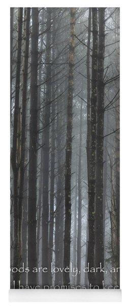 The Woods Yoga Mat
