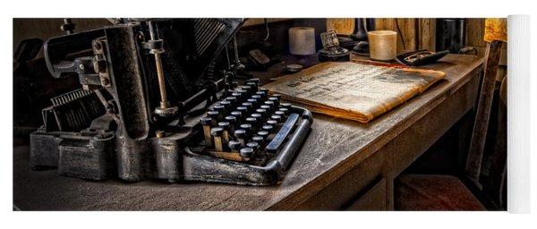 The Writer's Desk Yoga Mat