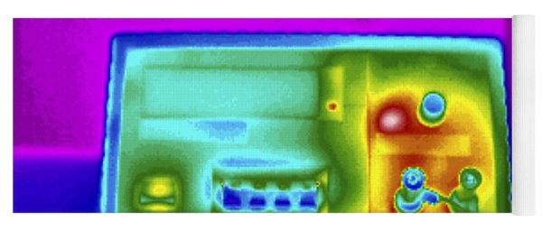 Thermogram Of Dc Power Supply Yoga Mat