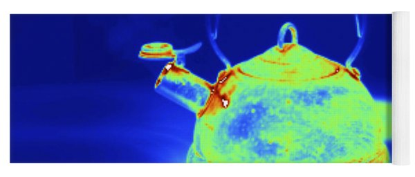 Thermogram Of Kettle Boiling Yoga Mat