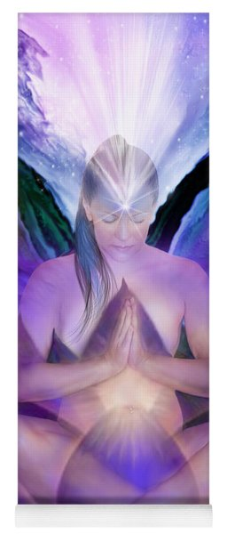 Third Eye Chakra Goddess Yoga Mat