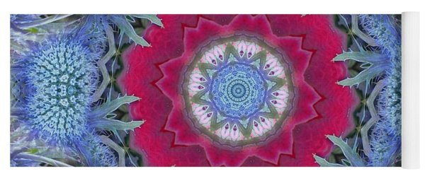Thistle Portal Mandala Yoga Mat