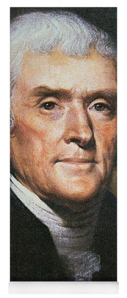 Thomas Jefferson Yoga Mat