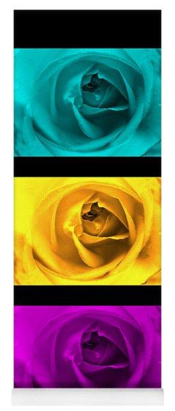 Three Roses Yoga Mat