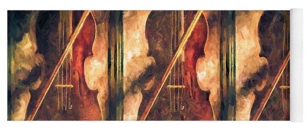 Three Violins Yoga Mat