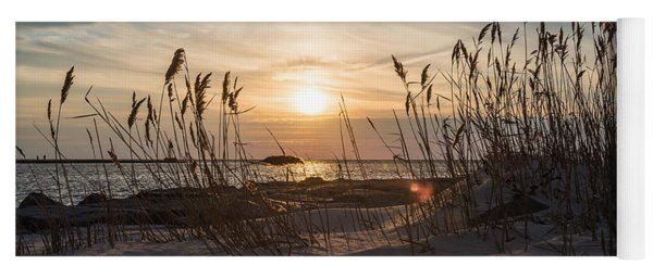 Through The Reeds Yoga Mat