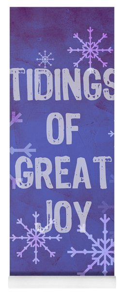 Tidings Of Great Joy Yoga Mat