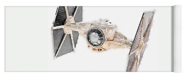 Tie Fighter Yoga Mat