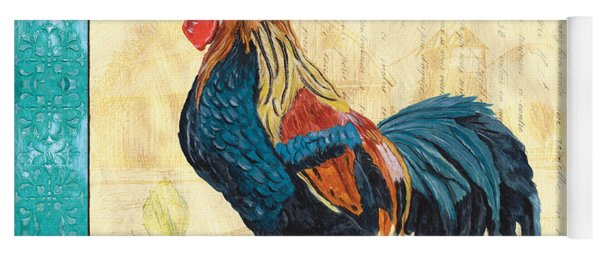 Tiffany Rooster 2 Yoga Mat