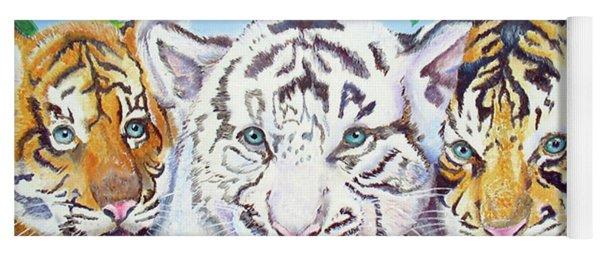 Tiger Cubs Yoga Mat