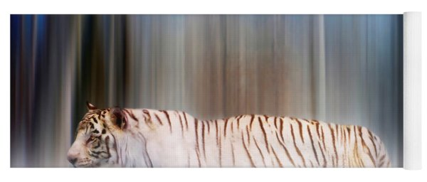 Tiger In The Mist Yoga Mat