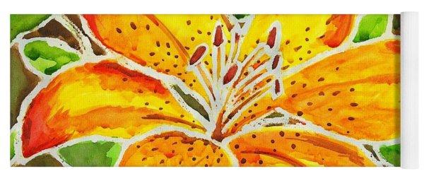 Tiger Lily  Yoga Mat