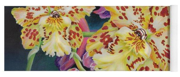 Tiger Orchid Yoga Mat