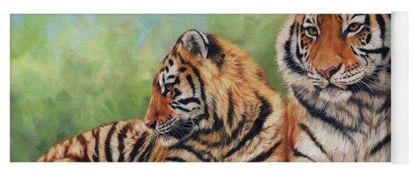 Tigers Yoga Mat