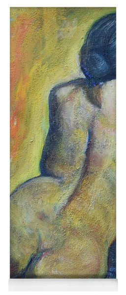 Tiina - Back Of Nude Woman Yoga Mat