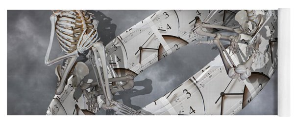 Time Management Yoga Mat