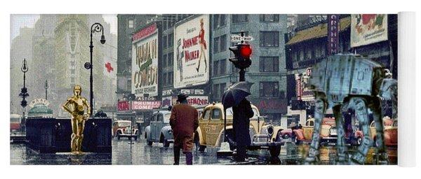 Times Square 1943 Reloaded Yoga Mat