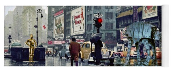 Times Square 1943 Reloaded Yoga Mat