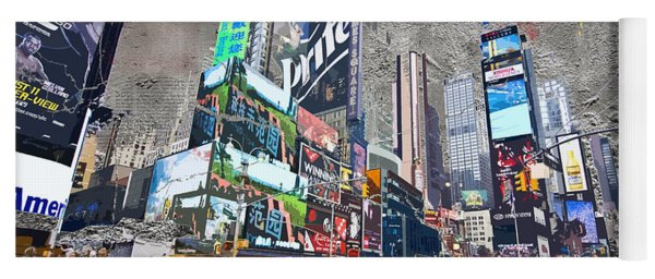 Times Square Street Creation Yoga Mat