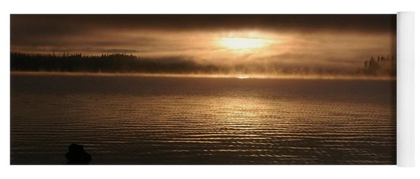 Timothy Lake Mysterious Sunrise 2 Yoga Mat