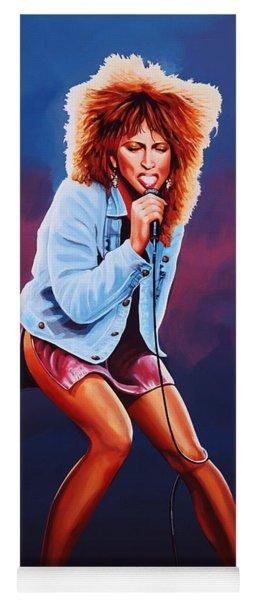 Tina Turner Yoga Mat