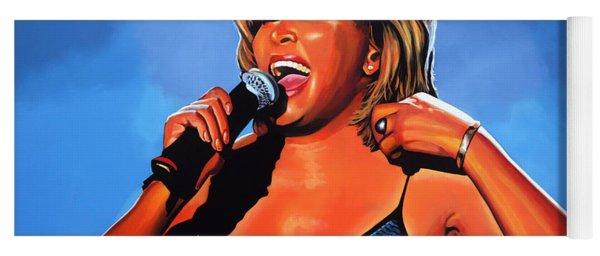 Tina Turner Queen Of Rock Yoga Mat