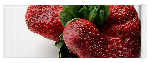 Tina's Strawberry Yoga Mat