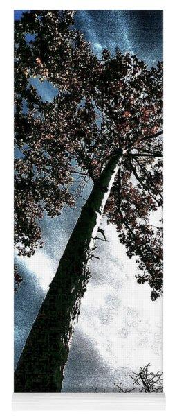 Tippy Top Tree II Art Yoga Mat