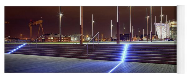 Titanic Belfast Viewed From The Olympic Yoga Mat