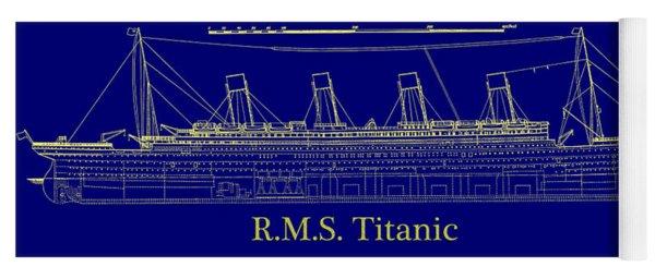 Titanic By Design Yoga Mat
