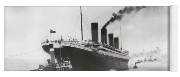 Titanic Ready For Her Maiden Voyage Yoga Mat