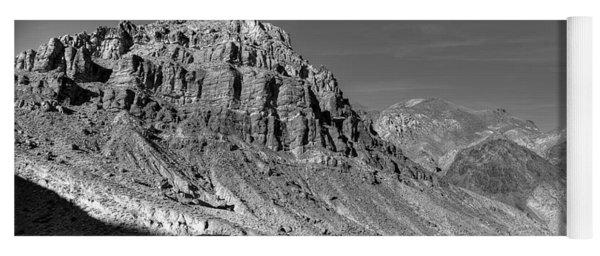 Titus Canyon Peak Yoga Mat