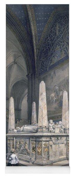 Tomb Of Gustav I In Uppsala Cathedral Yoga Mat