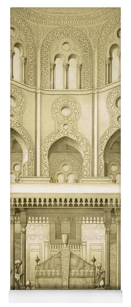Tomb Of Sultan Qalaoun In Cairo Yoga Mat