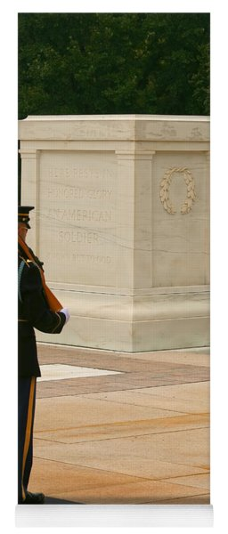 Tomb Of The Unknown Soldier Yoga Mat