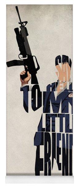 Tony Montana - Al Pacino Yoga Mat