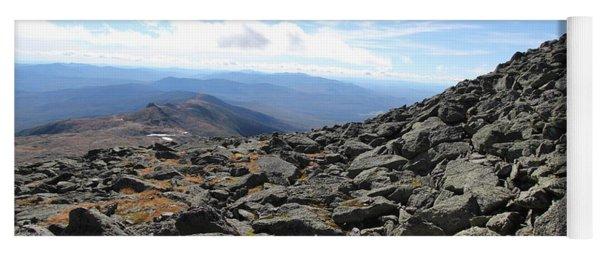 Top View Mt Washington Yoga Mat