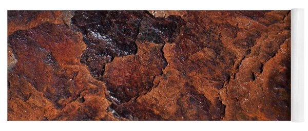 Topography Of Rust Yoga Mat