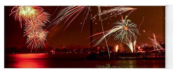 Toronto Fireworks Yoga Mat