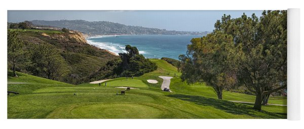 Torrey Pines Golf Course North 6th Hole Yoga Mat