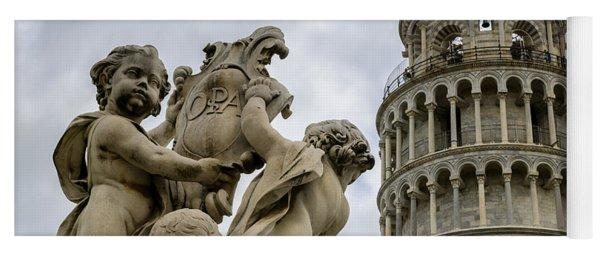 Tower Of Pisa Yoga Mat