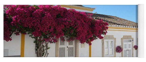 Traditional House Of Tavira. Portugal Yoga Mat