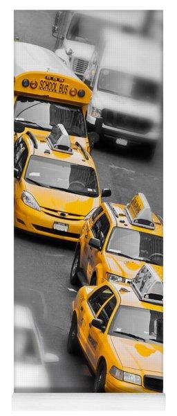 Traffic Yoga Mat