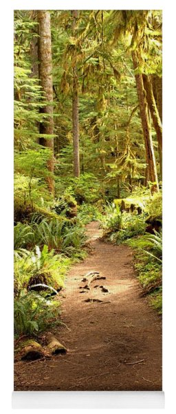 Trail Through The Rainforest Yoga Mat