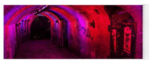 Trajectum Lumen Project. Ganzenmarkt Tunnel 2. Netherlands Yoga Mat