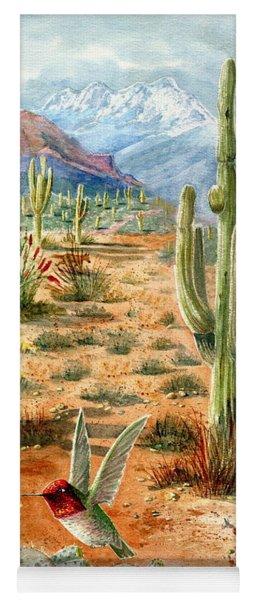 Treasures Of The Desert Yoga Mat