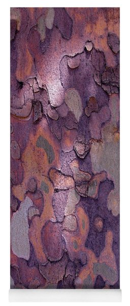 Tree Abstract Yoga Mat
